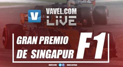 Resumen Carrera del GP de Singapur de Fórmula 1 2017