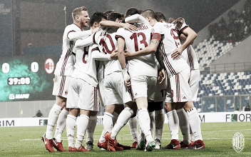 Scatto dalla gara d'andata, terminata 0-2. Fonte Immagine: Twitter AC Milan