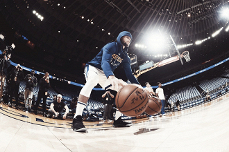 Steph Curry. Fonte: Golden State Warriors/Twitter