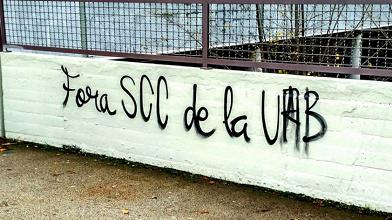 Libertad de expresión unidireccional en la UAB
