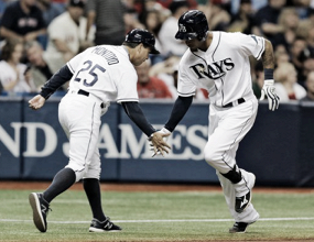 Tampa Bay Rays break 11-game skid with 13-7 win over Boston Red Sox