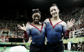 Rio 2016: Simone Biles, Aly Raisman go 1-2 in floor exercise final