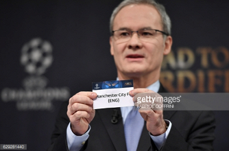 Manchester City to face Monaco in UEFA Champions League Last 16 tie