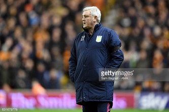 "Steve Bruce says Aston Villa were ""simply not good enough"" in timid defeat at Wolves"