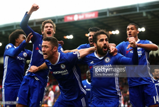 Stoke City 1-2 Chelsea: Late Gary Cahill strike extends Blues' lead at the top to 13 points
