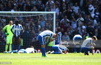 Aston Villa 1-1 Brighton & Hove Albion: Late Grealish equaliser denies Seagulls the Championship title