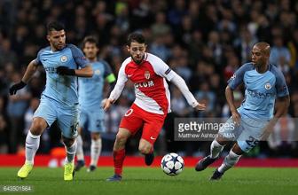 Monaco attacking midfielder Bernardo Silva joins Manchester City in £43 million move