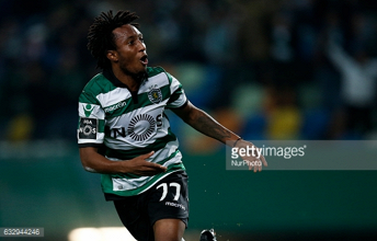 Liverpool start talks with Sporting CP for winger Gelson Martins as Mohamed Salah alternative