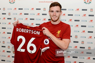 """Andrew Robertson hopeful Jürgen Klopp can take his game """"to the next level"""" at Liverpool"""