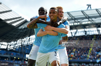 10-man Liverpool thrashed 5-0 by ruthless Man City as De Bruyne, Jesus and Sané all star