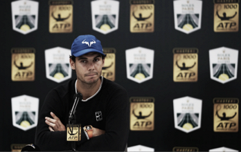 Rafael Nadal withdraws from Rolex Paris Masters quarterfinal