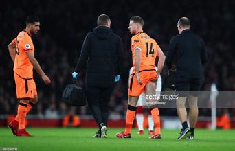 """Jürgen Klopp insists """"desperate"""" Liverpool captain Jordan Henderson is progressing well from injury"""