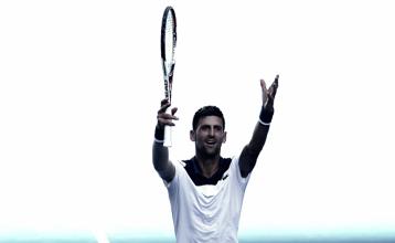 Australian Open: Novak Djokovic battles heat to defeat Gael Monfils