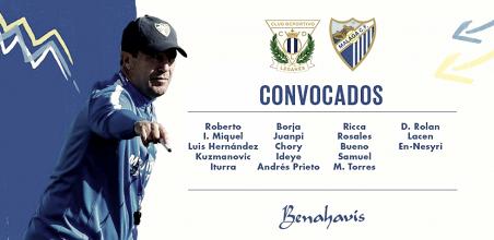 18 jugadores para la final en Madrid