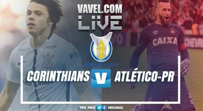 Resultado Corinthians x Atlético-PR no Brasileirão 2017 (2-2)