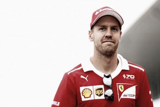 """Vettel: """"Estoy muy contento y agradecido de correr para Ferrari, pero quiero ganar"""""""