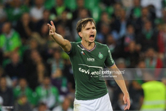 Which Saint-Etienne players are out on international duty?