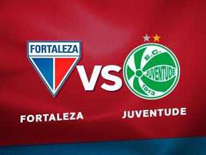 Resultado e gols Fortaleza x Juventude na Serie C (1-1)