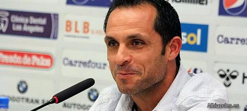 """Sergi Barjuan: """"No podemos consentir los últimos 10 minutos ante el Hércules"""""""