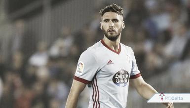 """Sergi Gómez: """"Va a ser un partido difícil en el que cualquier relajación la puedes pagar muy cara"""""""