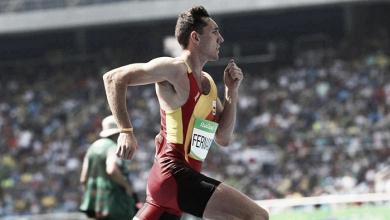 Sergio Fernández limpia las telarañas de los 400m vallas