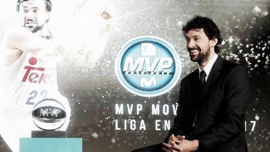 Sergio Llull, MVP de la Liga Endesa 2016-17