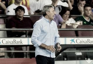 """Quique Setién: """"Mi equipo juega como era yo"""""""