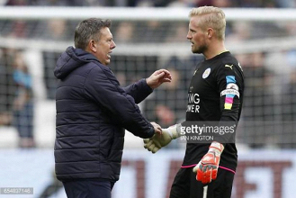 Kasper Schmeichel to stay at Leicester, says Foxes boss Craig Shakespeare