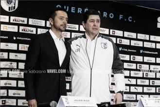 Presentan a Luis Fernando Tena como técnico de Querétaro