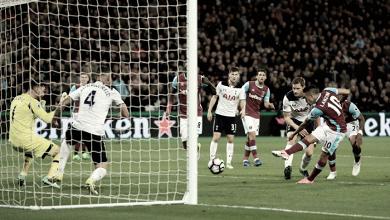 West Ham - Tottenham en vivo y en directo online en Premier League 2017