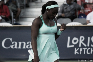 WTA Rogers Cup: Sloane Stephens battle back for first victory after comeback to tennis from injury