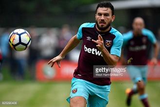 West Ham United winger Robert Snodgrass joins Aston Villa on season-long loan