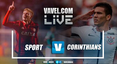 RESULTADO Sport x Corinthians no Campeonato Brasileiro (1-1)