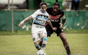 Sport vence Grêmio e fica próximo da classificação no Brasileiro Feminino
