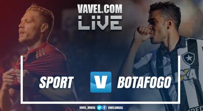 Resultado e gols de Sport x Botafogo pelo Campeonato Brasileiro 2018 (1-1)