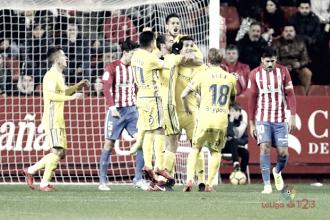 El Cádiz se hace fuerte a costa del Sporting