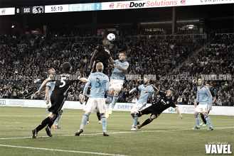 Sporting Kansas City falls in their Season Opener party