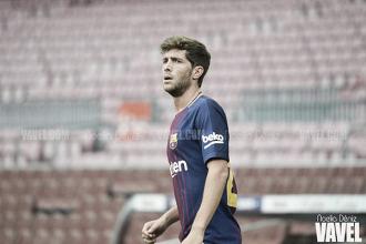 """Sergi Roberto: """"El Barça es el club de mi vida y quiero quedarme para siempre"""""""