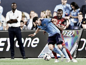 Toronto FC battle back to gain a point against New York City FC
