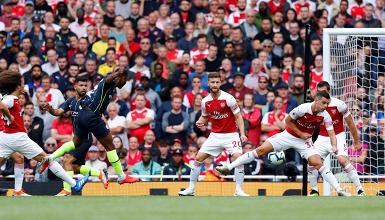 Premier League 2018/19 - L'Arsenal di Emery stecca la prima, Manchester City troppo forte: 0-2 all'Emirates