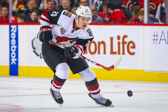 Arizona Coyotes recall top prospect Dylan Strome from AHL