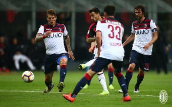 Serie A- Il Milan batte il Bologna grazie a Suso e Borini, zona Champions ancora vicina (2-1)