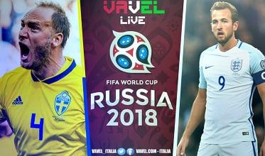 Terminata Svezia - Inghilterra, LIVE Mondiali Russia 2018 (0-2): Maguire ed Alli, Leoni avanti!