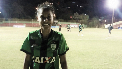 Com gol sofrido cedo, Tabata aponta desatenção do América-MG em derrota para Portuguesa