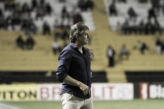 Luiz Carlos Winck ressalta dificuldades no empate do Criciúma contra Paysandu