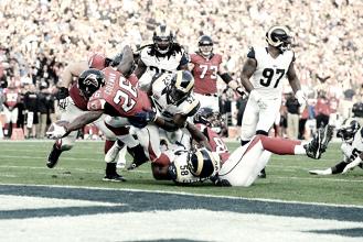Unos Falcons sin Julio Jones vapulean a los Rams