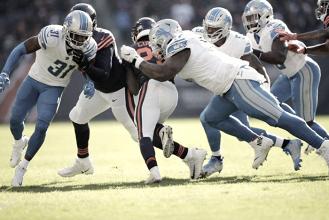Lions dejan en el fondo de la NFC Norte a los Bears