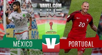 Resultado y goles del México 1-2 Portugal en Confederaciones 2017