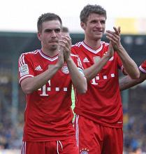 Lahm et Müller prolongent au Bayern !