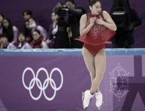 Mirai Nagasu, ex Ice Girl de los Colorado Avalanche, hace historia en los JJOO de PyeongChang 2018